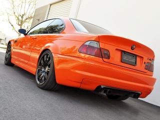 обои EAS BMW M3 Coupe VF650 (E46) 2012 сзади фото