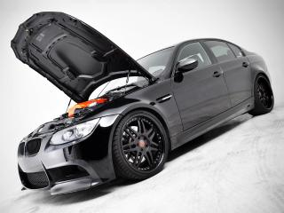 обои EAS BMW M3 Sedan VF620 Supercharged (E90) 2012 сбоку фото
