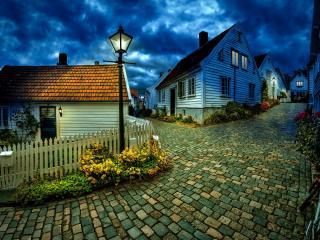 обои Мощатые улицы поселкa фото