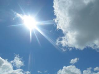 обои Солнце и облакa фото