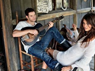 обои Романтик с гитарою фото