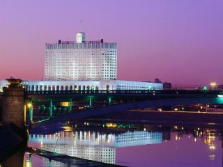 обои Москва, дом Правительства РФ фото