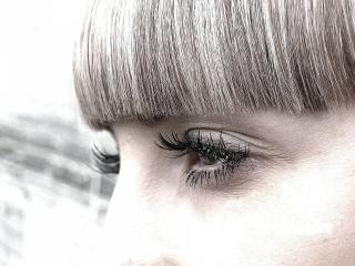 обои Глаза в профиль фото