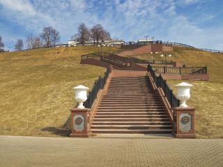 обои Городская лестница фото