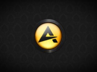 обои Логотип плэера Аимп фото