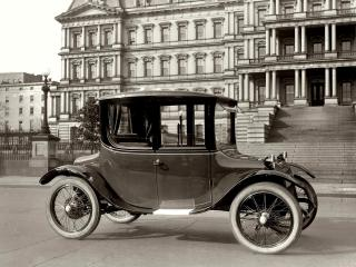 обои Detroit Electric Coupe 1921 бок фото