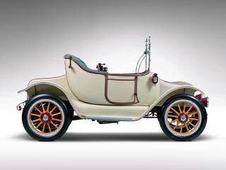 обои Detroit Electric Model 46 Cape Top Roadster 1914 бок фото