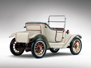 обои Detroit Electric Model 46 Cape Top Roadster 1914 зад фото