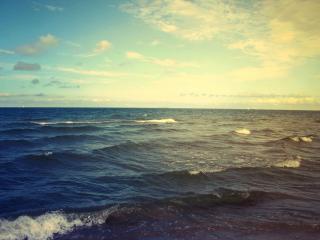 обои Волны мoрские фото