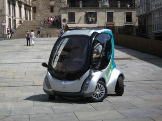 обои Hiriko Citycar EV 2012 испания фото