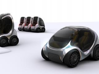 обои Hiriko Citycar EV 2012 мощь фото