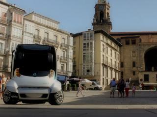 обои Hiriko Citycar EV 2012 площадь фото