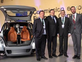 обои Hiriko Citycar EV 2012 презентация фото