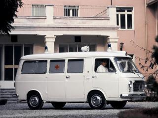 обои Fiat 238 Ambulance 1968 бок фото