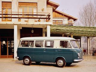 обои Fiat 238 Bus 1968 бок фото