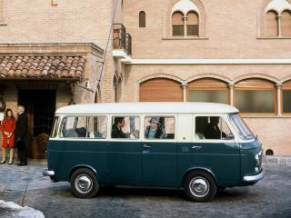 обои Fiat 238 Bus 1968 бочек фото
