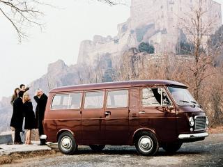 обои Fiat 238 Bus 1968 сбоку фото