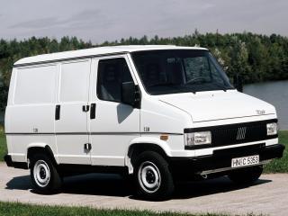 обои Fiat Talento Van 1990 боком фото