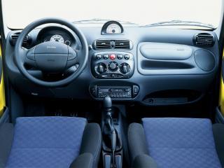 обои Fiat Seicento Sporting 1998 руль фото