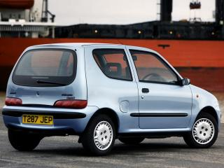 обои Fiat Seicento UK-spec 1998 маленький фото