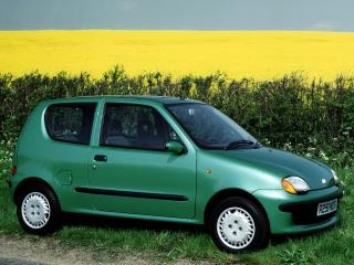 обои Fiat Seicento UK-spec 1998 поле фото