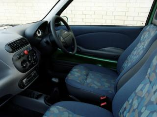 обои Fiat Seicento UK-spec 1998 салон фото