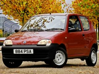 обои Fiat Seicento UK-spec 2001 перед фото