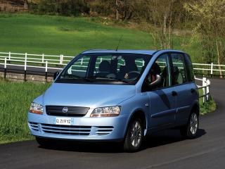 обои Fiat Multipla 2004 передок фото