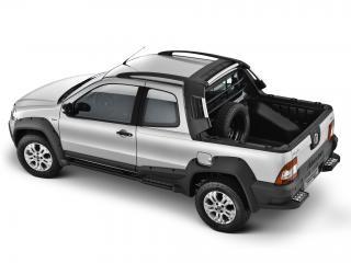 обои Fiat Strada Adventure CD 2009 серый фото