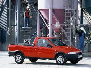обои для рабочего стола: Fiat Strada EU-spec 1999 завод