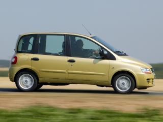 обои для рабочего стола: Fiat Multipla 2004 скорость