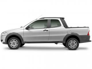 обои Fiat Strada Working CD 2009 сбоку фото
