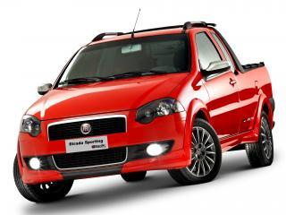 обои Fiat Strada Sporting 2011 спереди фото