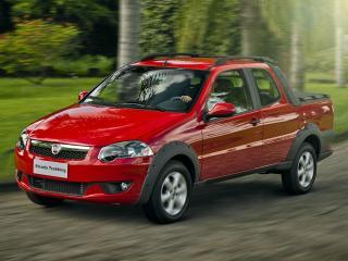 обои Fiat Strada Trekking CD 2012 передок фото