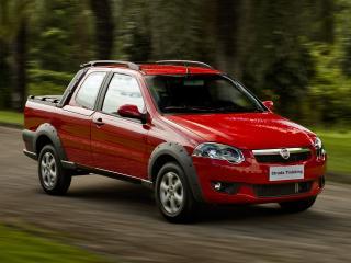 обои Fiat Strada Trekking CD 2012 скорость фото