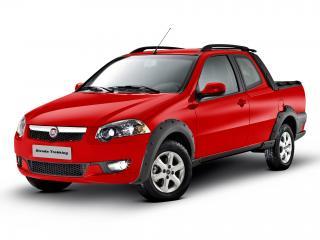 обои Fiat Strada Trekking CD 2012 спереди фото