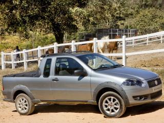 обои Fiat Strada Trekking CE 2009 бок фото