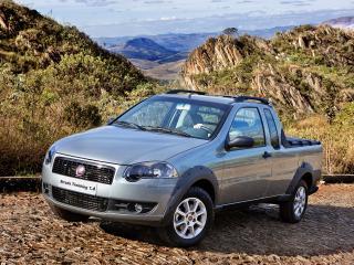 обои Fiat Strada Trekking CE 2009 горы фото