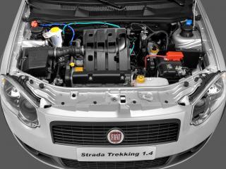 обои Fiat Strada Trekking CE 2009 мотор фото