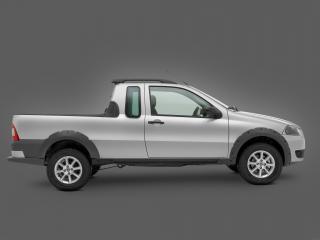 обои Fiat Strada Trekking CE 2009 сбоку фото