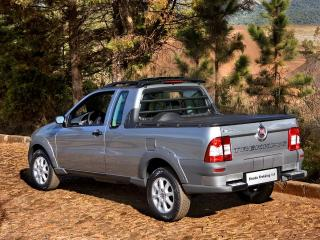 обои Fiat Strada Trekking CE 2009 спуск фото