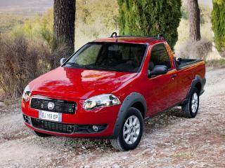 обои Fiat Strada Trekking Short Cab EU-spec 2012 перед фото