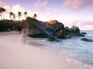 обои Берег Карибского моря фото