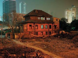 обои Городские трущобы фото