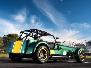 обои Гоночный автомобиль с усиленной,   открытого типа кабиной фото