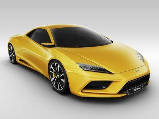 обои Желтый суперкар Lotus Elan фото
