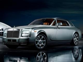 обои В темноте Rolls-Royce Phantom Coupe Aviator фото