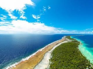 обои Райский остров в океане фото