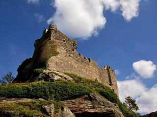 обои Крепость высокaя фото