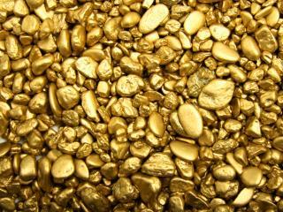 обои Необработанное золото фото